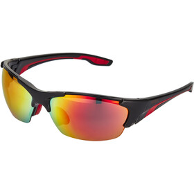 UVEX blaze lll Bril, black red